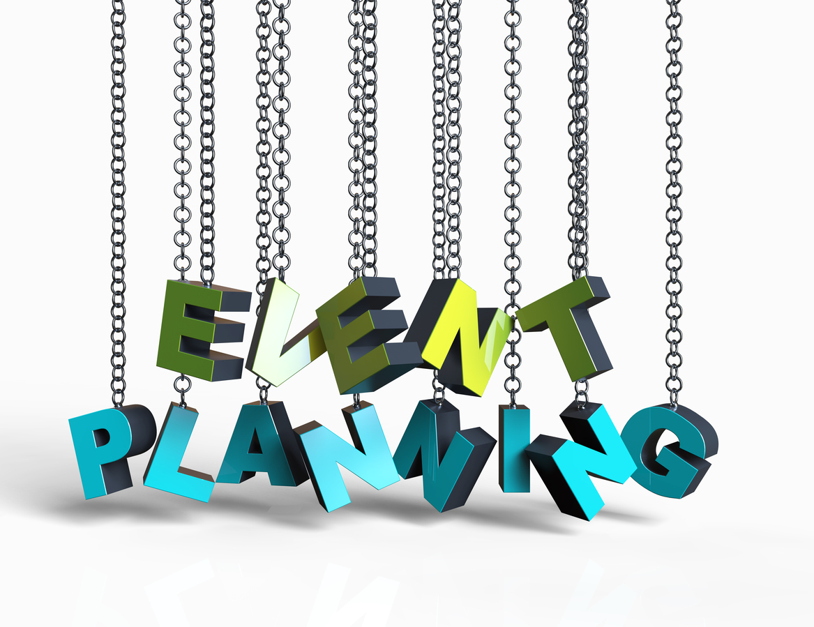 Event Planning hanging on chain